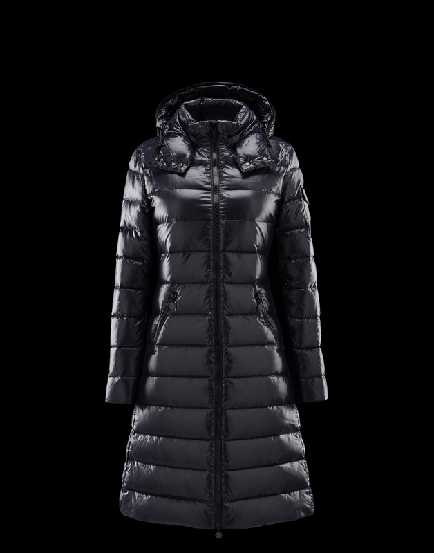 Cheap Moncler Long Coats For Women Blue MC1167 Sale